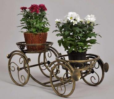 Кованые подставки для цветов в Казани