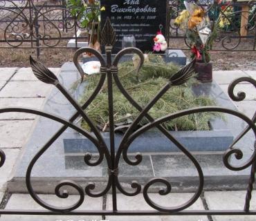 Ритуальные ограды на могилу для кладбища