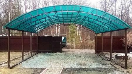 Навесы для автомобиля в Казани