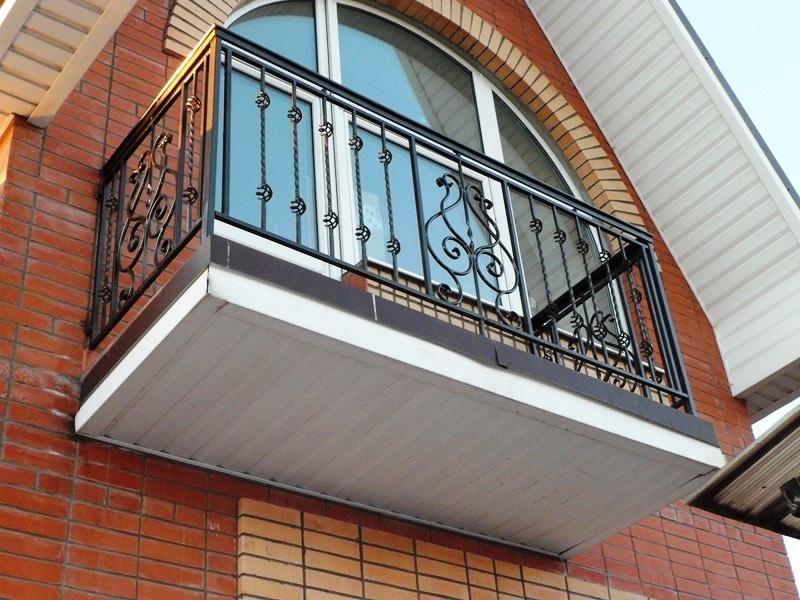 Кованый балкон 4 мелодия металла - металлоизделия и художест.